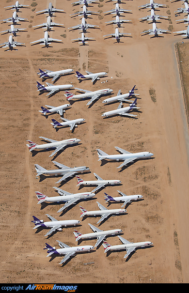 Victorville Aircraft Scrapping