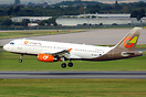 Orange2Fly Airbus A320 SX-SOF is operating Norwegian's Barcelona to va...