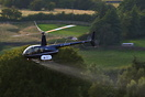 Heli Air Robinson R-44 Raven II seen here crop spraying in the Yorkshi...