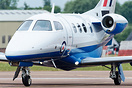 First of five Phenom 100E aircraft for the RAF Military Flight Trainin...