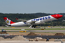 Second Edelweiss Air Airbus A340-300 obtained from mother Airline Swis...