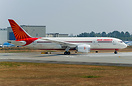 Air India's latest 787-8 dreamliner ready to take off on her first fli...