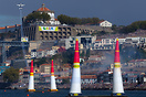 Red Bull Air Race 2017 in Porto / Gaia: The race track with Pete McLeo...