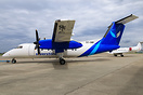 First Dash 8 for new Kenya airline Silverstone Air Services. Paintjob ...