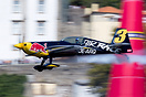 Red Bull Air Race Porto / Gaia 2017. Kevin Coleman looks to the left i...