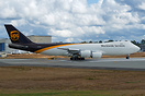Latest UPS 747-8F on a test flight after getting painted