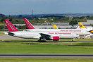 Two Omni Air 777s are operating repatriation flights for Monarch Airli...