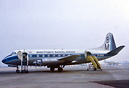 BMA Viscount G-AODG struck the runway at East Midlands Airport 1000 fe...