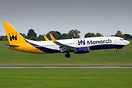 Boeing 737-800 G-ZBAV was to have marked the beginning of Monarch Airl...