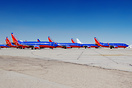 Southwest recently retired all their 737-300's with the majority headi...