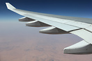 Flying over the huge Sahara desert @FL380.