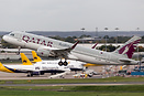 Seen departing on a Monarch Airlines repatriation flight on behalf of ...