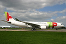 Newly delivered 3rd Airbus A330 for TAP