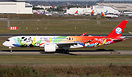 First A350 for Sichuan Airlines in special Panda livery.