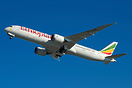 Ethiopian Airlines' first 787-9 long haul Dreamliner (aircraft name Be...