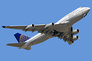 United Airlines 747 Farewell Tour.