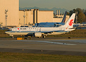 Air China's first 737-8 MAX at Paine field for touch and go tests and ...