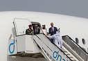 HH Sheikh Mohammed Bin Rashid Al Maktoum leaving after his visit on th...