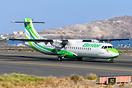 New ATR-72 -600 Binter Canarias plane delivered on 10/31