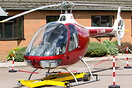 This Guimbal Cabri G2 helicopter G-JAMM was involved in a mid-air coll...