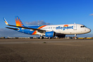 Latest addition for Allegiant - Out of the paintjob of MAAS Aviation M...