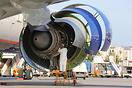 GE90 engine maintenance