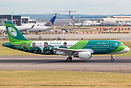 Official Airline of th Irish Rugby Team livery