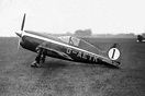 The T.K.4 was built by students at Stag Lane Aerodrome in 1937 with th...
