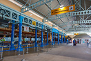 The open structured check-in terminal area for international flights a...