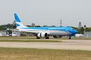 First Boeing 737 8 MAX for Aerolineas Argentinas