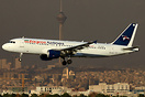 Recently obtained an Iranian registration but still in basic Nouvelair...