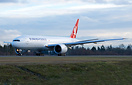 Turkish Cargo's second 777 freighter on her delivery flight to Istanbu...