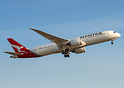 Qantas second Boeing 787-9 departing on her delivery flight