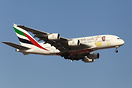 Specially chartered Emirates A380 brining soccer fans to Kuwait for a ...