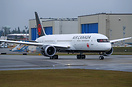 Air Canada's latest Boeing 787-9 Dreamliner preparing for its first fl...