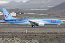 First commercial visit to Tenerife South of the new Boeing 737 MAX fro...