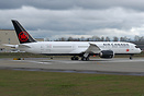 Air Canada's latest 787-9 on her first flight