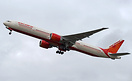 Air India's latest Boeing 777-300ER rotating on her delivery flight to...