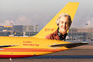 "Hair Force One special tail scheme featuring James May of ""The Grand T..."