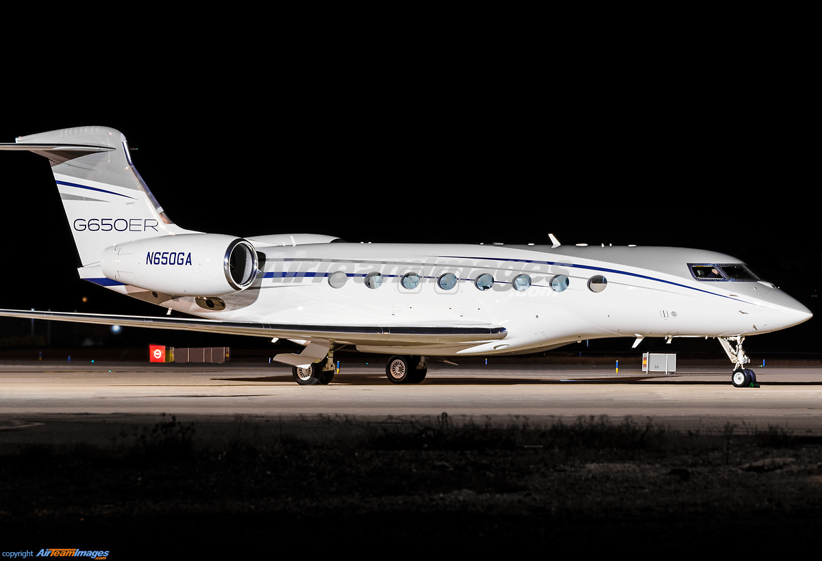 G >> Gulfstream G650ER - Large Preview - AirTeamImages.com
