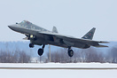 First Sukhoi Su-57 in service with Russian Air Force, has been to Syri...