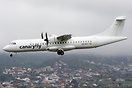 New ATR 72-500 for CanaryFly inter-island Canary Islands airline, arri...