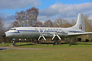 Originally built for BOAC at Filton in 1957, this Britannia was withdr...