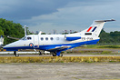 First of five Phenom 100E for the United Kingdom Air Force (RAF). Belo...