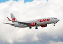 Thai Lion Air's first Boeing 737-9 MAX on her first flight