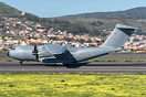 First visit to Tenerife of this second A400 of the Spanish air force. ...