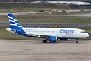 Recently delivery to Ellinair is this former Monarch A320, which has s...