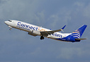 "Special livery promoting Copa Airlines' mileage program ""Connect Miles..."