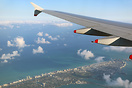 Descending over Miami