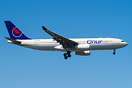 new Airbus A330-200 for Onur Air already painted in basic Saudia colou...